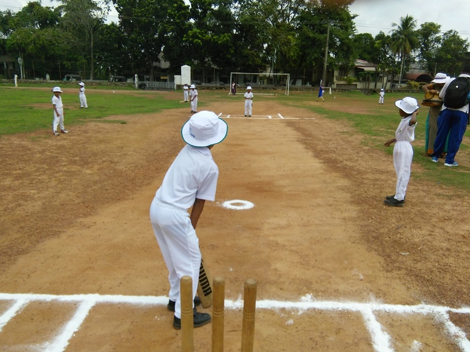 Cricket Match for the Primary Section