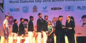 Award Ceremony for World Diabetes Day Competitions